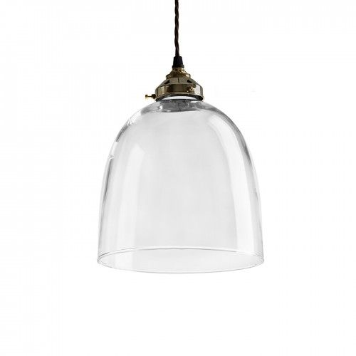 A sleek and simple silhouette that hangs somewhere between modern and antique design, the beautifully hand blown Bell pendant has become one of Heal's most popular pieces of lighting.  The combination of eclectic styles and periods means that this elegant pendant sits beautifully in a range of interiors – from hearty country dining rooms to sharp, modern living spaces.