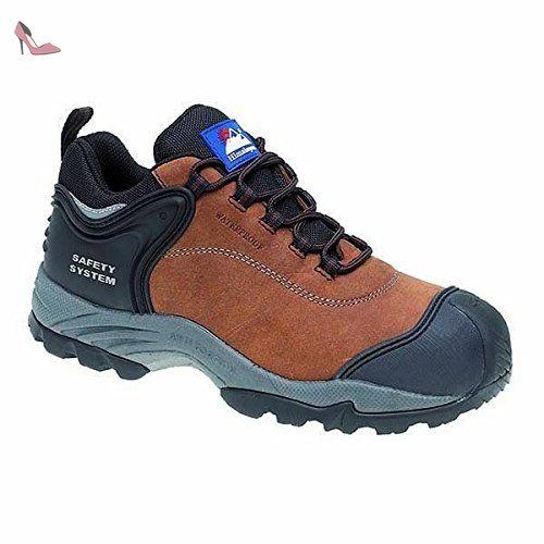 L'Himalaya 4041–3.0bulles d'air Trainer Chaussures de sécurité, taille 3, Noir
