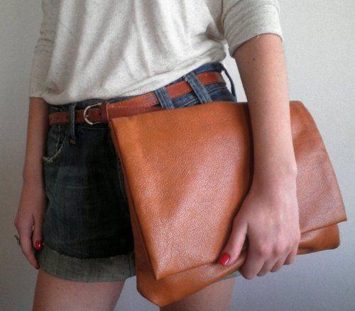 Brown bag from Nala Torbice (Croatia). Isn't it great?