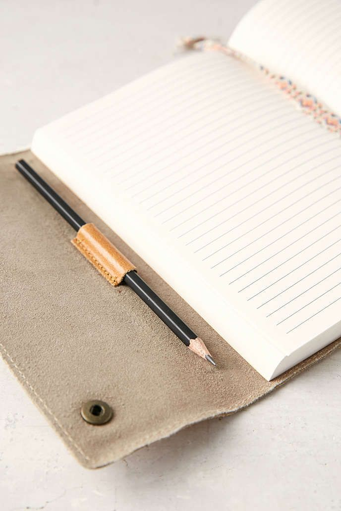 Leather Oh Snap Journal