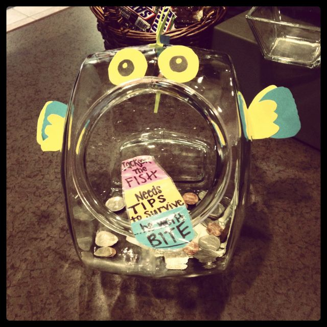 Tip Jar For YW Fundraiser Teaching Ideas Pinterest Tip Jars Simple Tip Jar Decorating Ideas