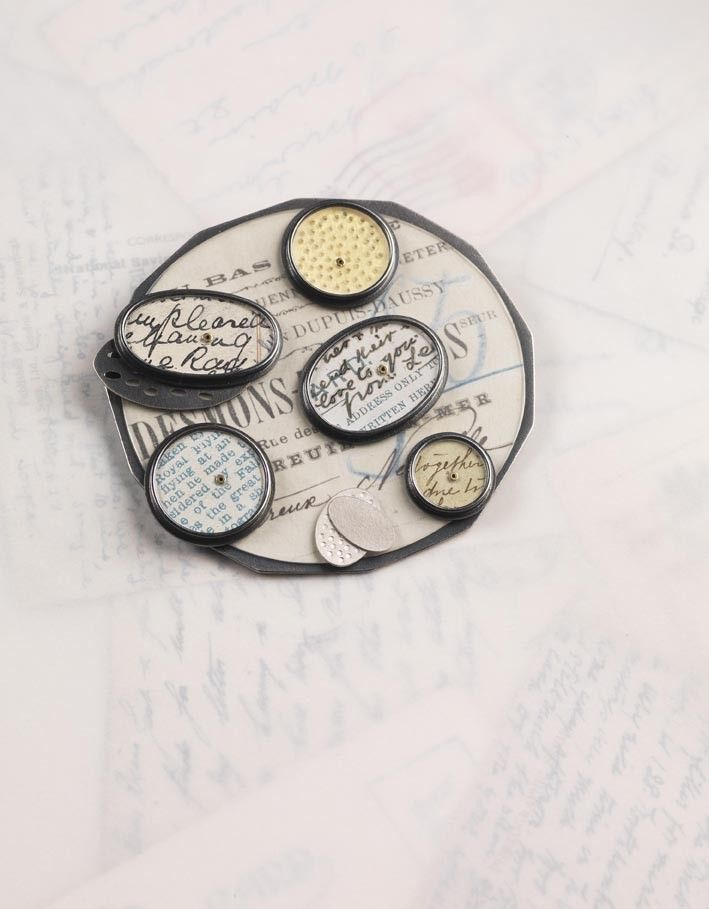 clare hillerby - french bill brooch
