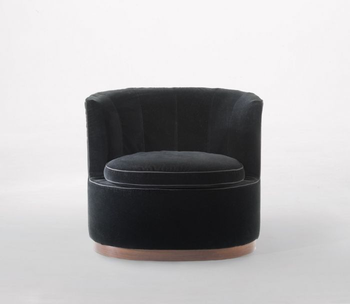 Carlo Colombo Adele Armchair   Frame In Wood With Polyurethane And Dacron  Padding Covered With A Protective Fabric Lining Seat Cushions In  Polyurethane And ...