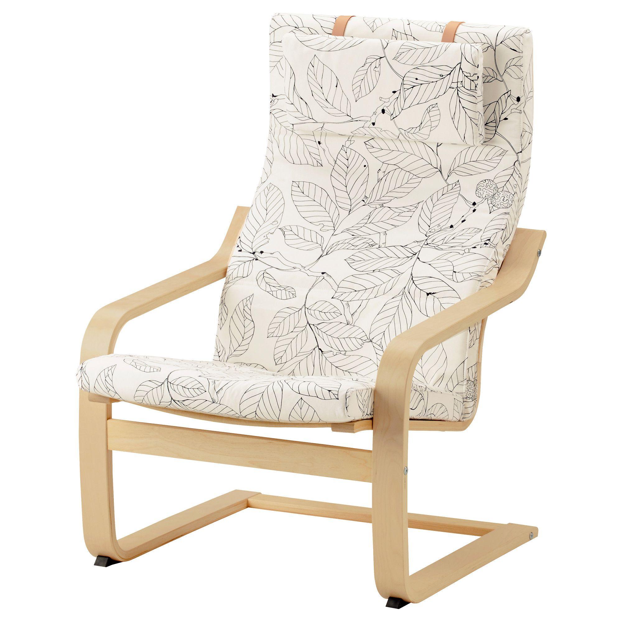 Miraculous Ikea Poang Armchair Birch Veneer Vislanda Black White Ibusinesslaw Wood Chair Design Ideas Ibusinesslaworg
