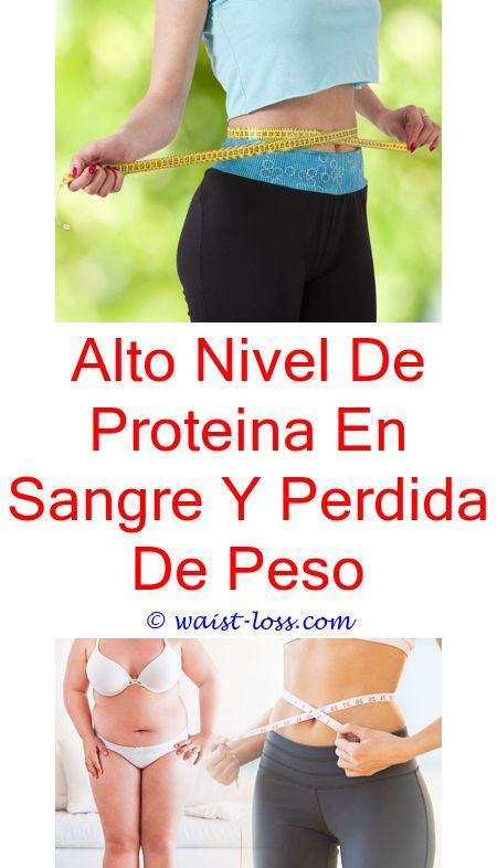 Alto nivel de proteina en sangre y perdida de pesos