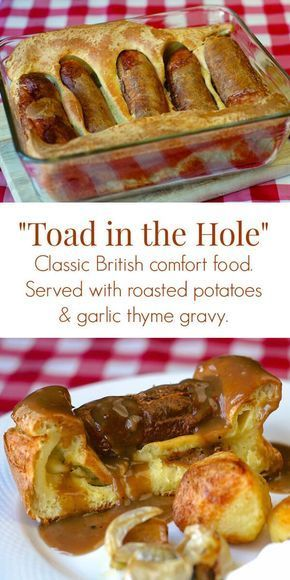 Toad in the Hole #comfortfoods