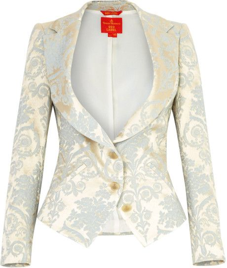 Image result for brocade ivory jacket