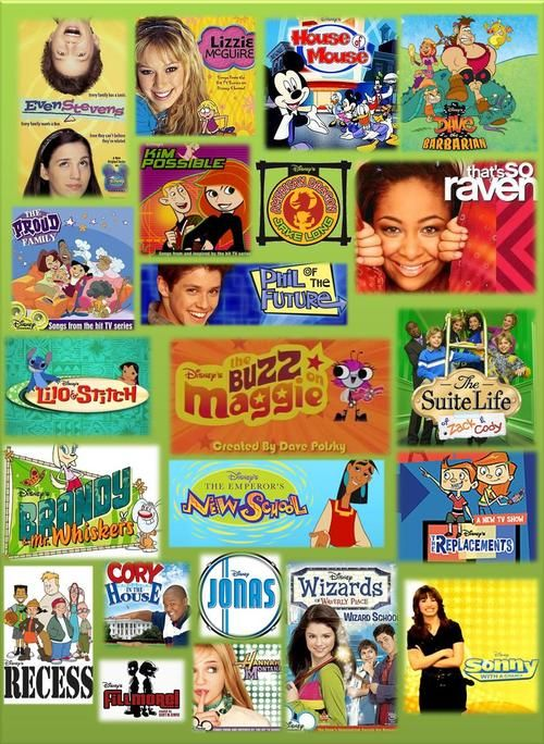 2000s Channel Cartoons Disney