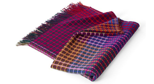 Margo Selby Lambswool Throw - Cristobel.