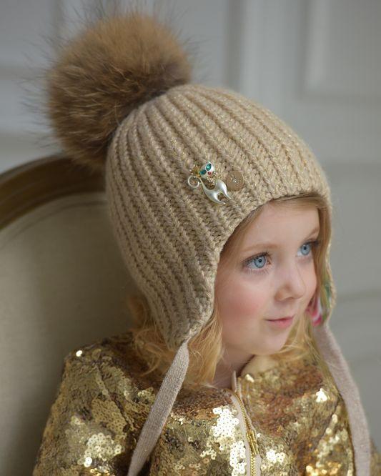 зимние шапочки для детей купить теплые детские шапки 2018 Dandani