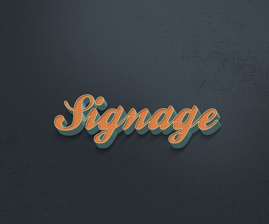 Turn Any Texts Logos Symbols Into A Retro Vintage Style With This Free Photoshop Text Effect Available In PSD Format Smart Object