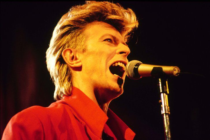 Pin for Later: 10 Iconic Beauty Looks That Make David Bowie a Legend Glass Spider Tour