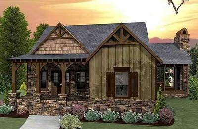 Plan 92323mx Unique Sunken Floor Plan Porch House Plans Cottage Style House Plans Craftsman House Plans