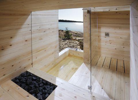 Modern Finnish Design Sauna Kyly By Avanto Architects Kyly Is A Massive  Wood Sauna Designed By Avanto Architects From Helsinki .