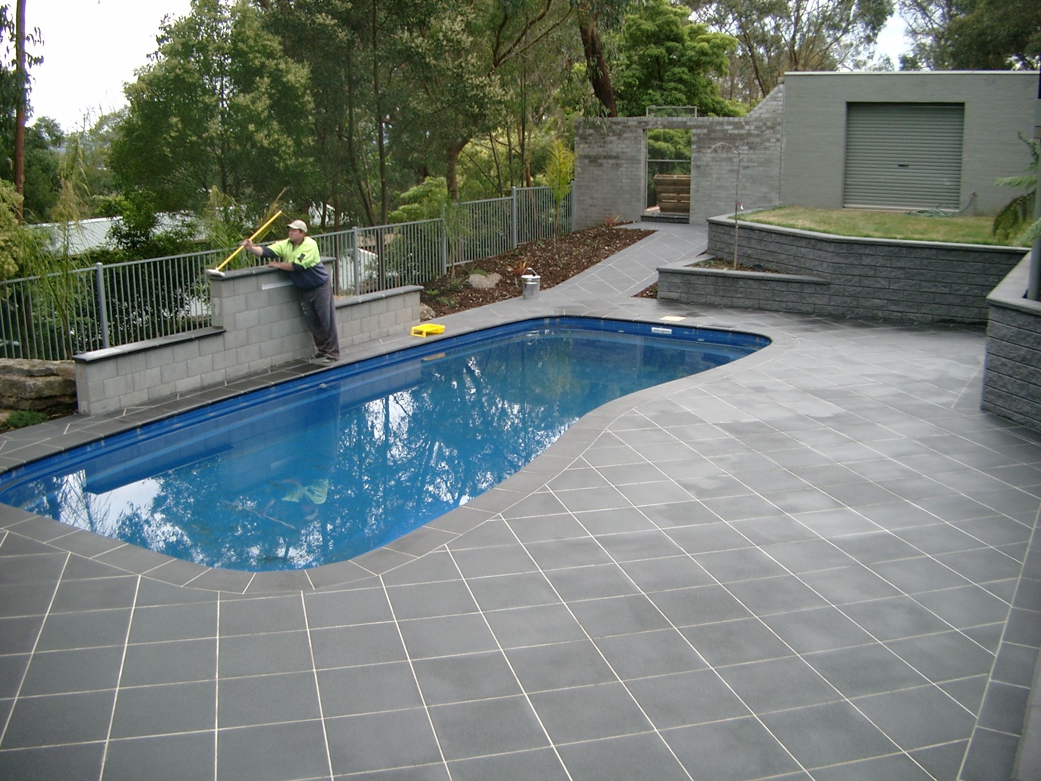 Pool Deck Pavers And Tiles Pool Pavers Travertine Pool Pool Patio