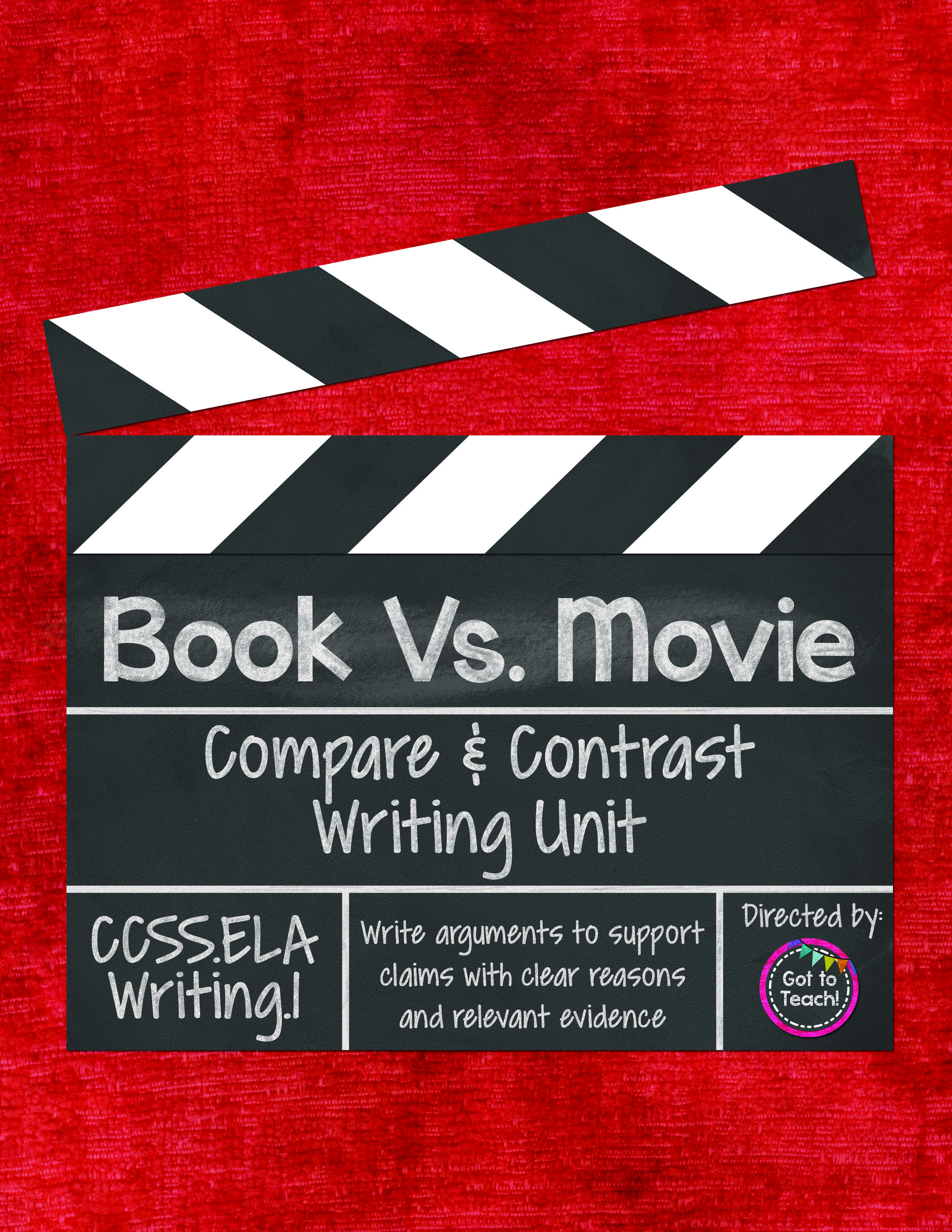 Book Vs Movie Writing A Compare And Contrast Opinion Essay