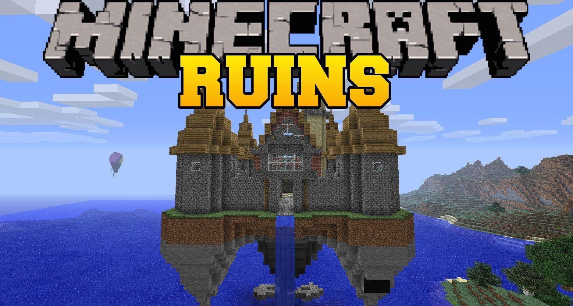 Minecraft Mod Showcase - Ruins Mod - Randomly Generated