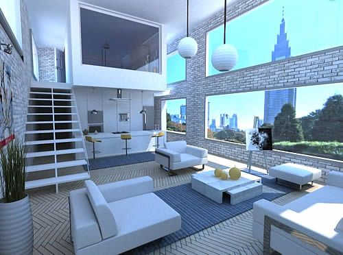 Sweet Crib Minimalist Living Room Furniture House Styles Design