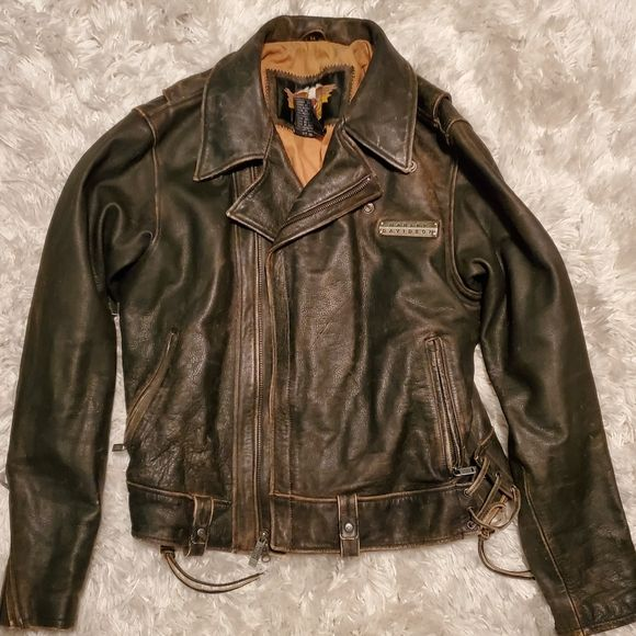 Harley-Davidson woman's leather jacket in 2020 | Leather ...