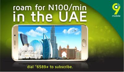 9Mobile Roaming Offer: Enjoy Free Incoming Calls on Your Line When
