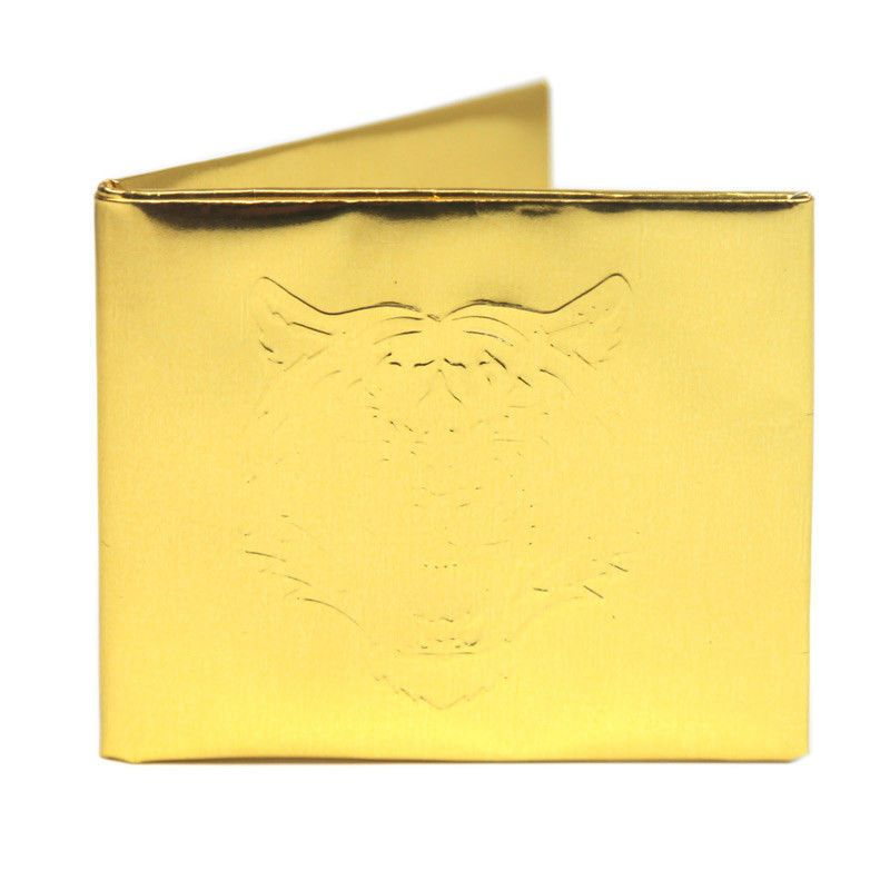 the golden tiger bifold paper wallet the walart mighty tyvek