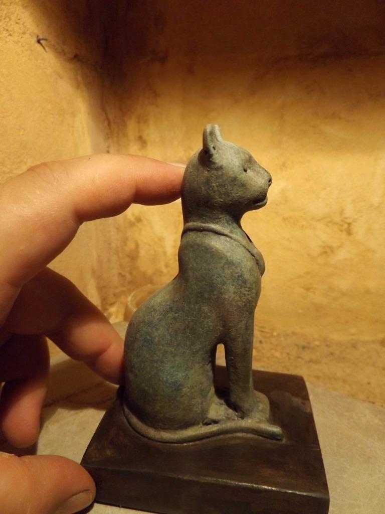 Egyptian Cat Statue / Sculpture of Bast / Bastet music