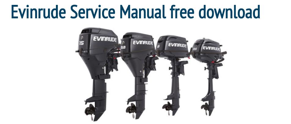 Free Johnson Evinrude Service Manual Pdf Repair Manuals Outboard Manual
