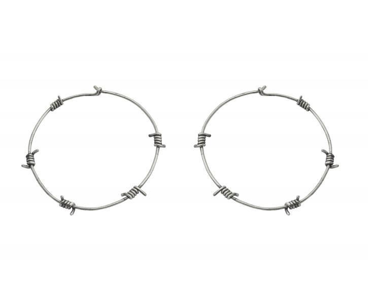 Barb Wire Hoop Earrings Tom Binns Jewelry Pinterest Tom Binns