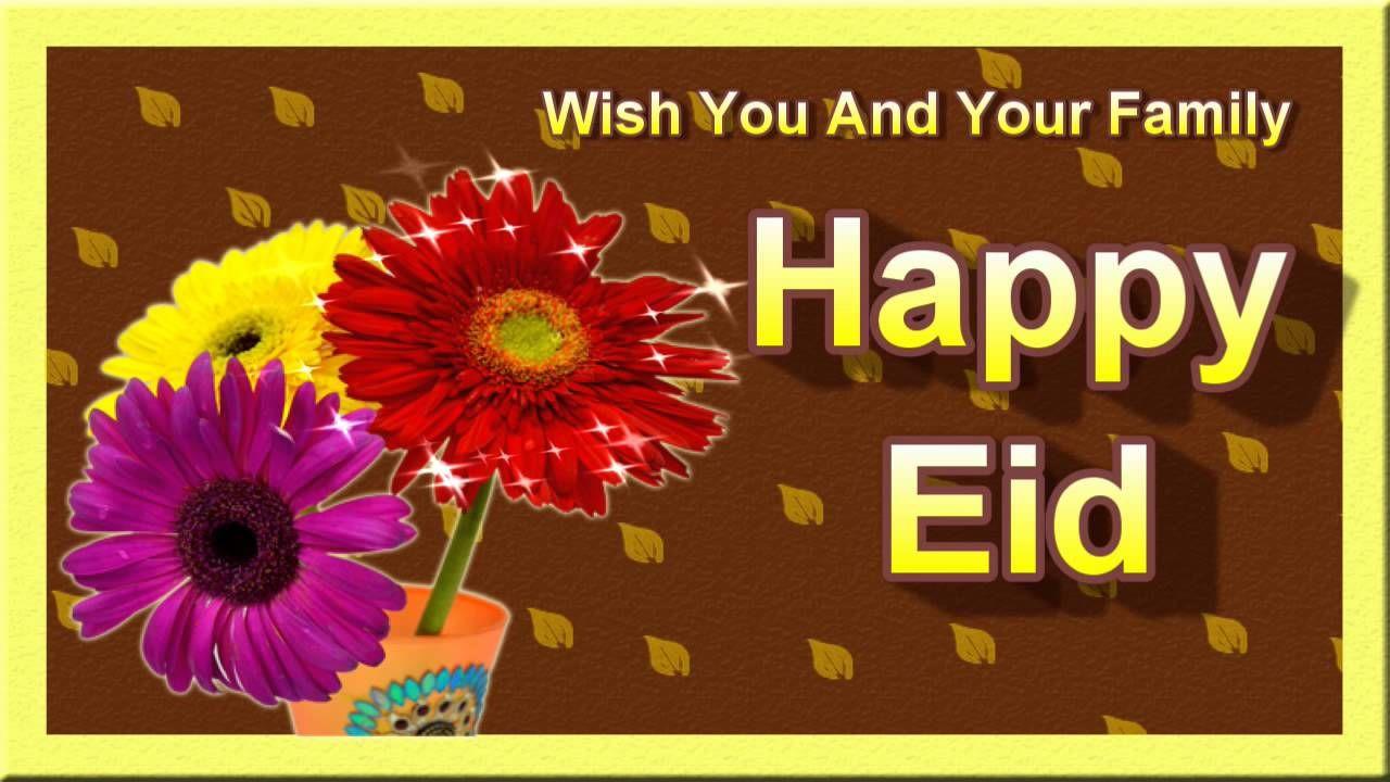 Eid Greetings Card Wish Eid To Your Love Ones Eid Al Fitar