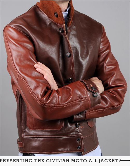 Hickoree S 1920s Civilian A 1 Moto Jacket Two Tone Horsehide Leather Leather Jacket Lambskin Leather Jacket Black Leather Motorcycle Jacket