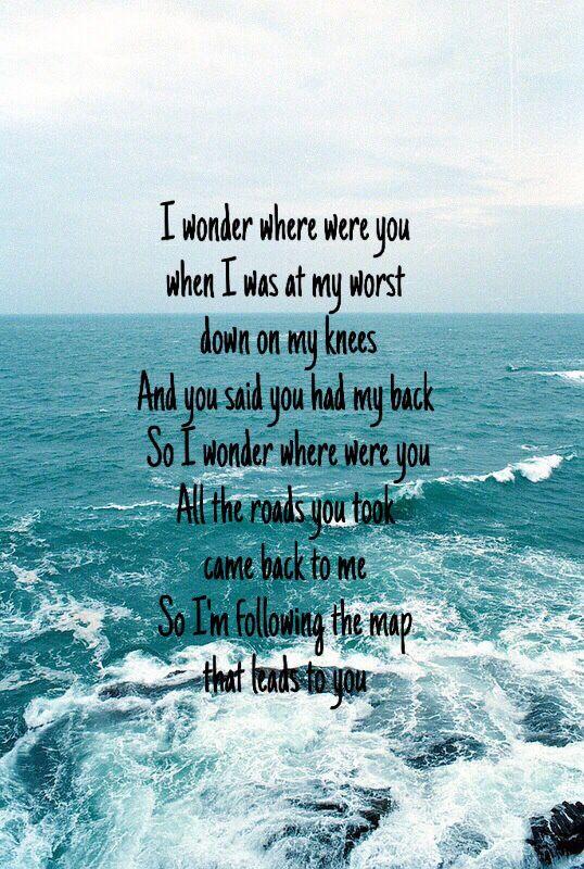 Love this song🎧 (maroon 5 - maps)   We It   Lyrics ... Map Ytics on