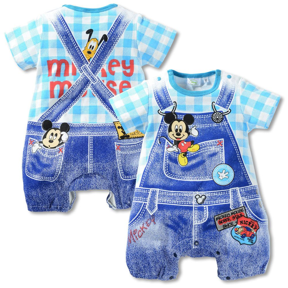 Disney Baby-Boys Romper Jumpsuits /& Rompers