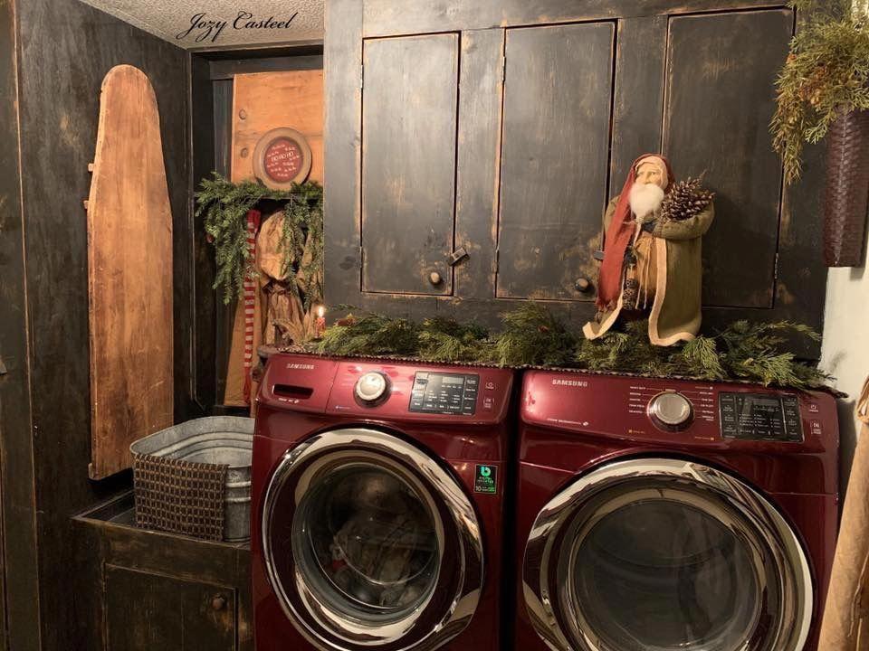 Primitive Bathroom Cabinets Primitivebathrooms Primitive Laundry Rooms Primitive Bathrooms Christmas Bathroom Decor