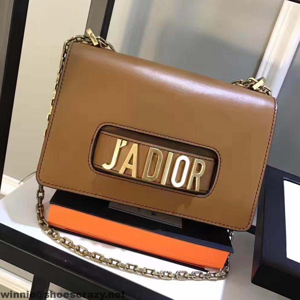 8668637042a6 Dior J ADIOR Flap Bag With Chain In Calfskin 2017