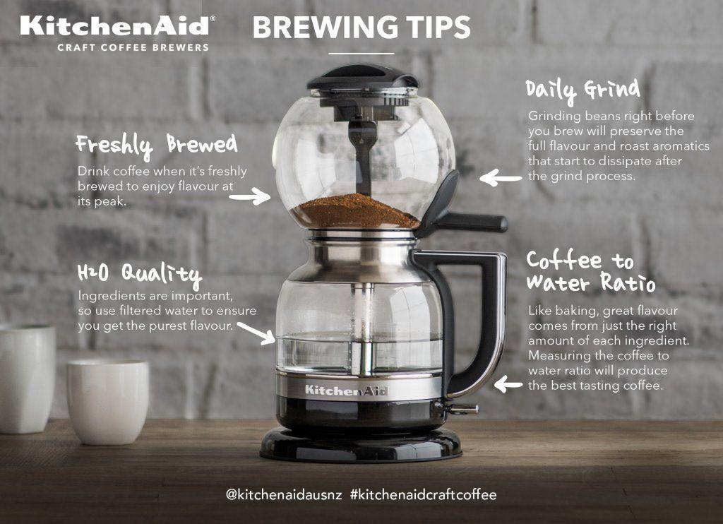 Kitchenaid kcm0812 siphon coffee brewer in 2020 coffee