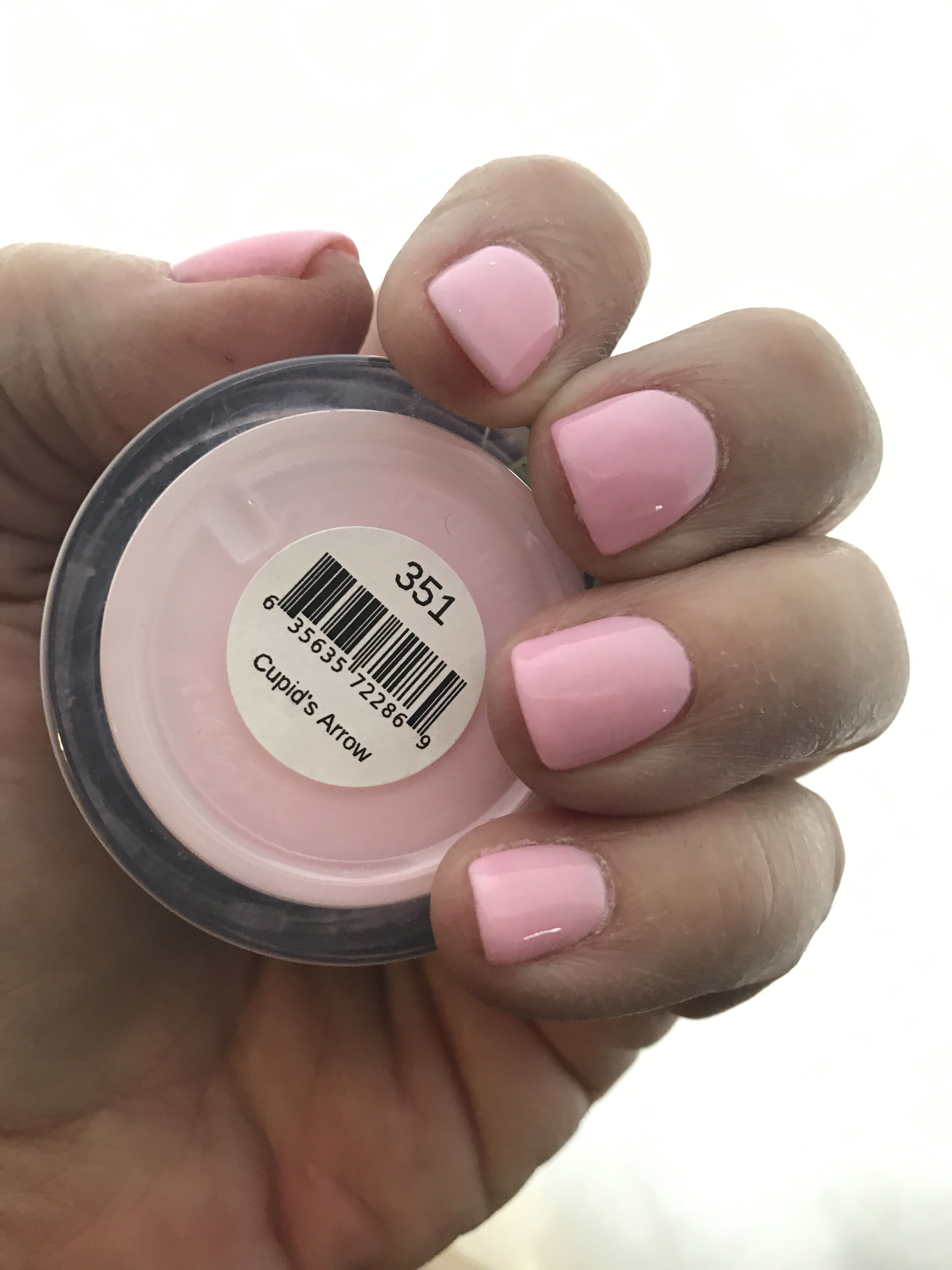 Sns 351 Cupid S Arrow A Beautiful Soft Pink I Love It With Images Sns Nails Colors Dipped Nails Revel Nail Dip Powder