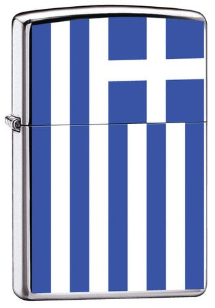 Greece Flag Zippo Lighter