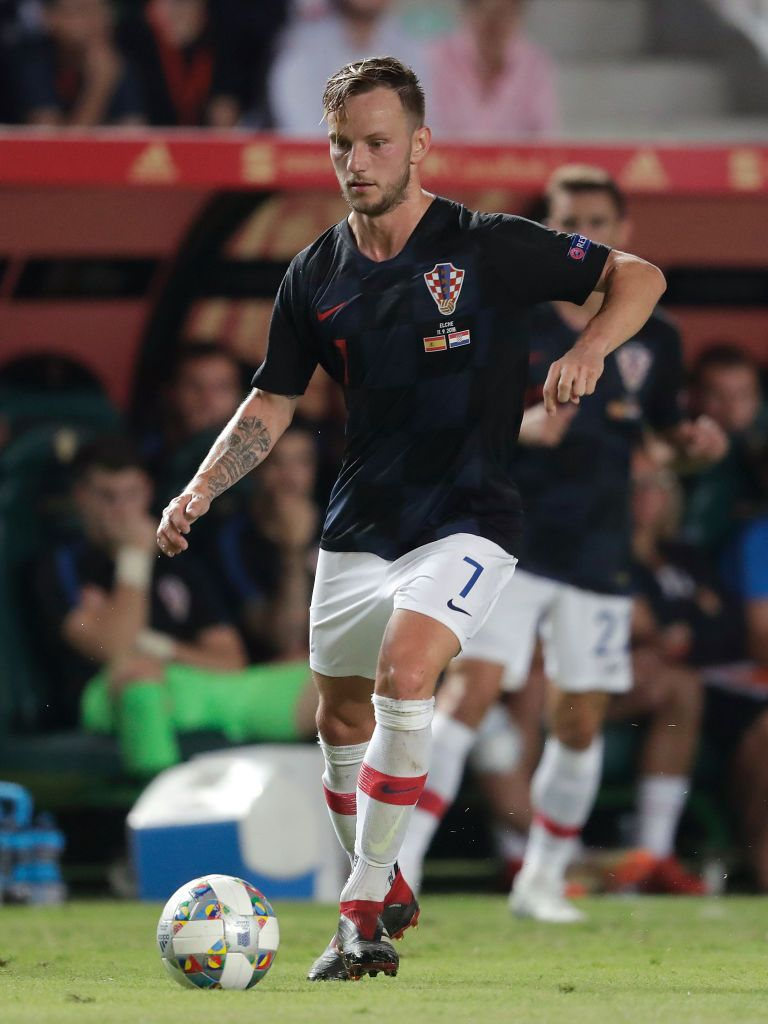 Ivan Rakitic Of Croatia During The Uefa Nations League Match Between Ivan Rakitic Croatia League