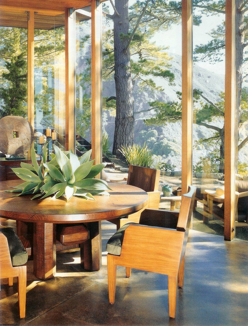 Dining Room In Big Sur, CA By Mark Boone, Inc.