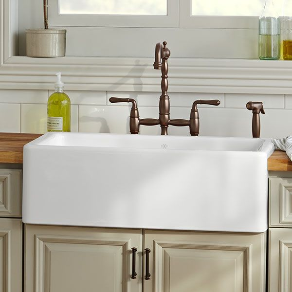 Dxv Hillside 30 Inch Kitchen Sink Room Scene Canvas White Farmhouse Sink Ikea Farmhouse Sink Double Farmhouse Sink