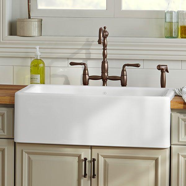 Dxv Hillside 30 Inch Kitchen Sink Room Scene Canvas White
