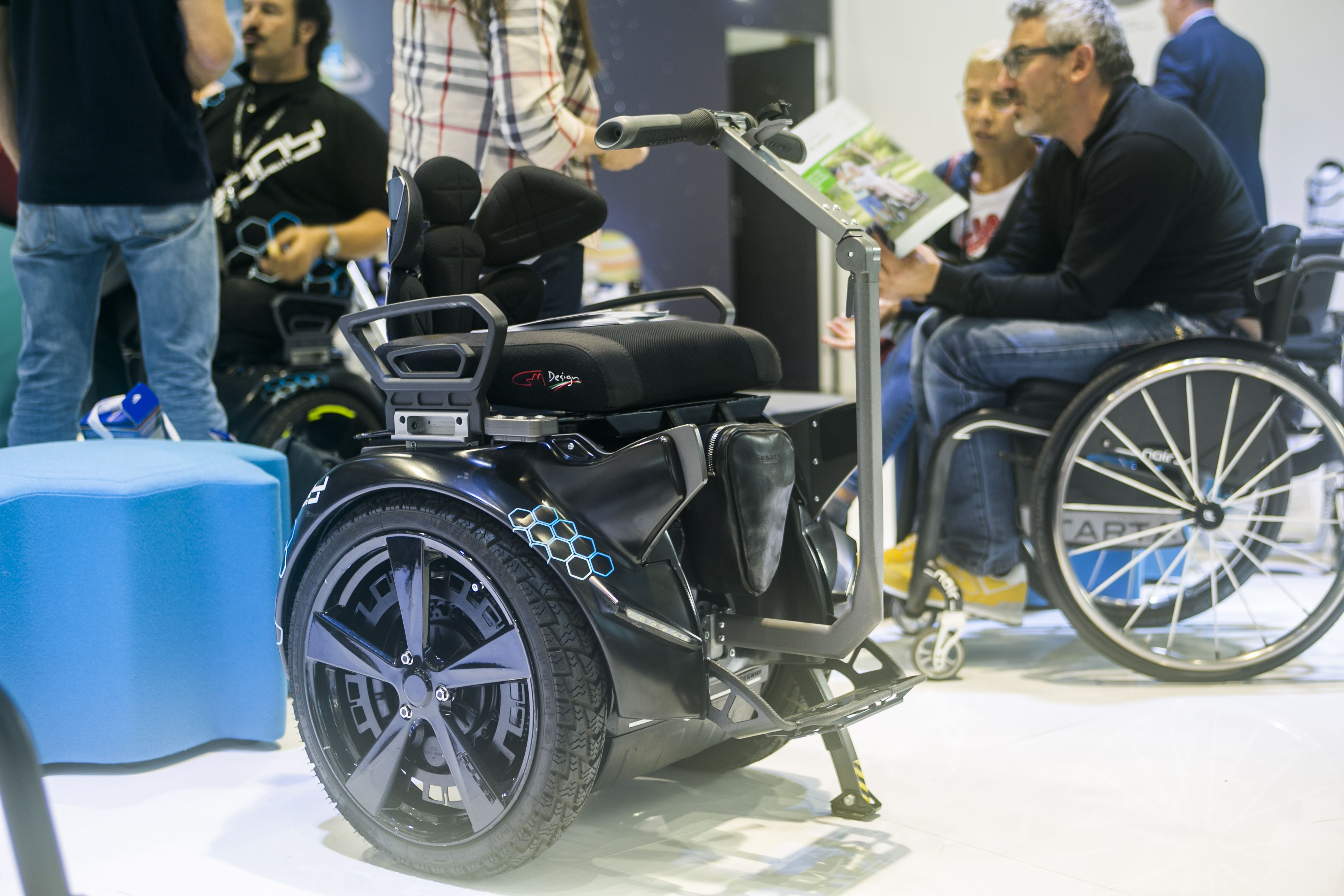 REHACARE INTERNATIONAL 2018 Motorcycle, Genny, Vehicles