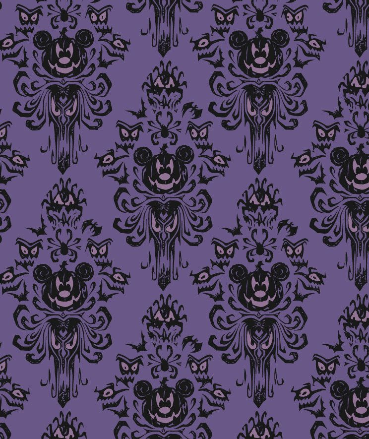 Hauntingly Fun Halloween Merchandise Features The Haunted Mansion At Disney Parks Disney Halloween Disney Haunted Mansion Halloween Wallpaper