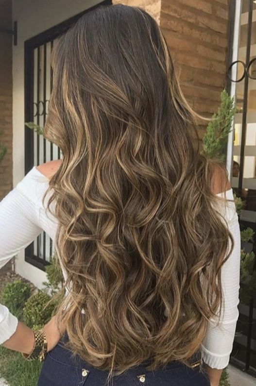 Pin by Ludimila Sueth Rodrigues on Cabello   Hair styles, Long hair styles,  Hair highlights