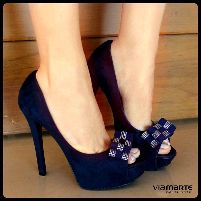 33502cfab heels - party shoes - salto alto - peep toe - inverno 2014 - Ref. 14 ...