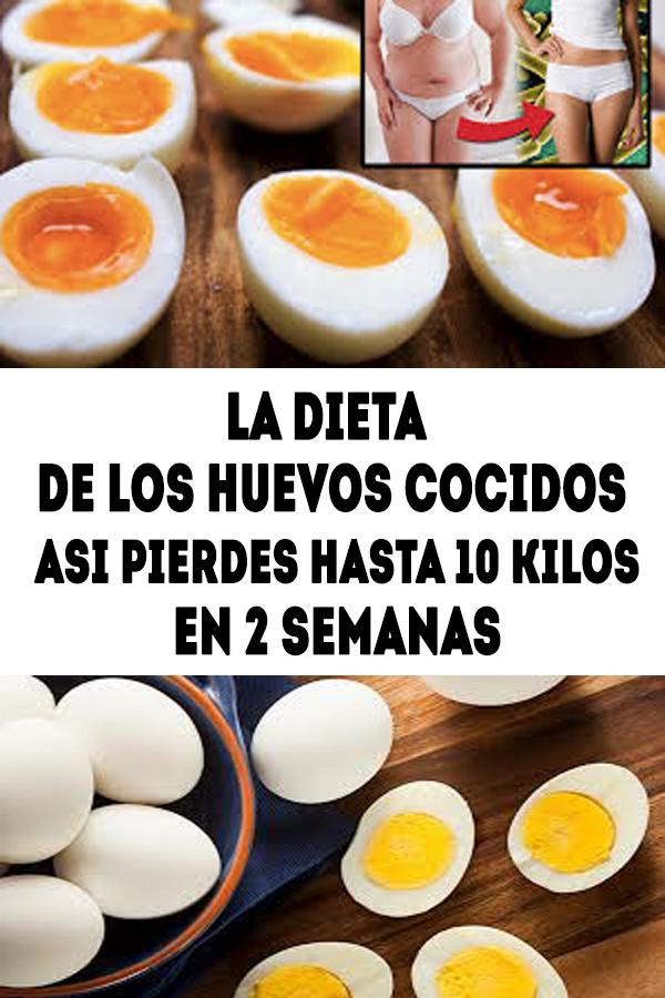 el huevo duro sirve para adelgazar