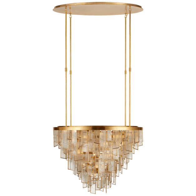 Ardent Large Waterfall Chandelier Waterfall Chandelier Chandelier Ceiling Lights Visual Comfort Chandelier