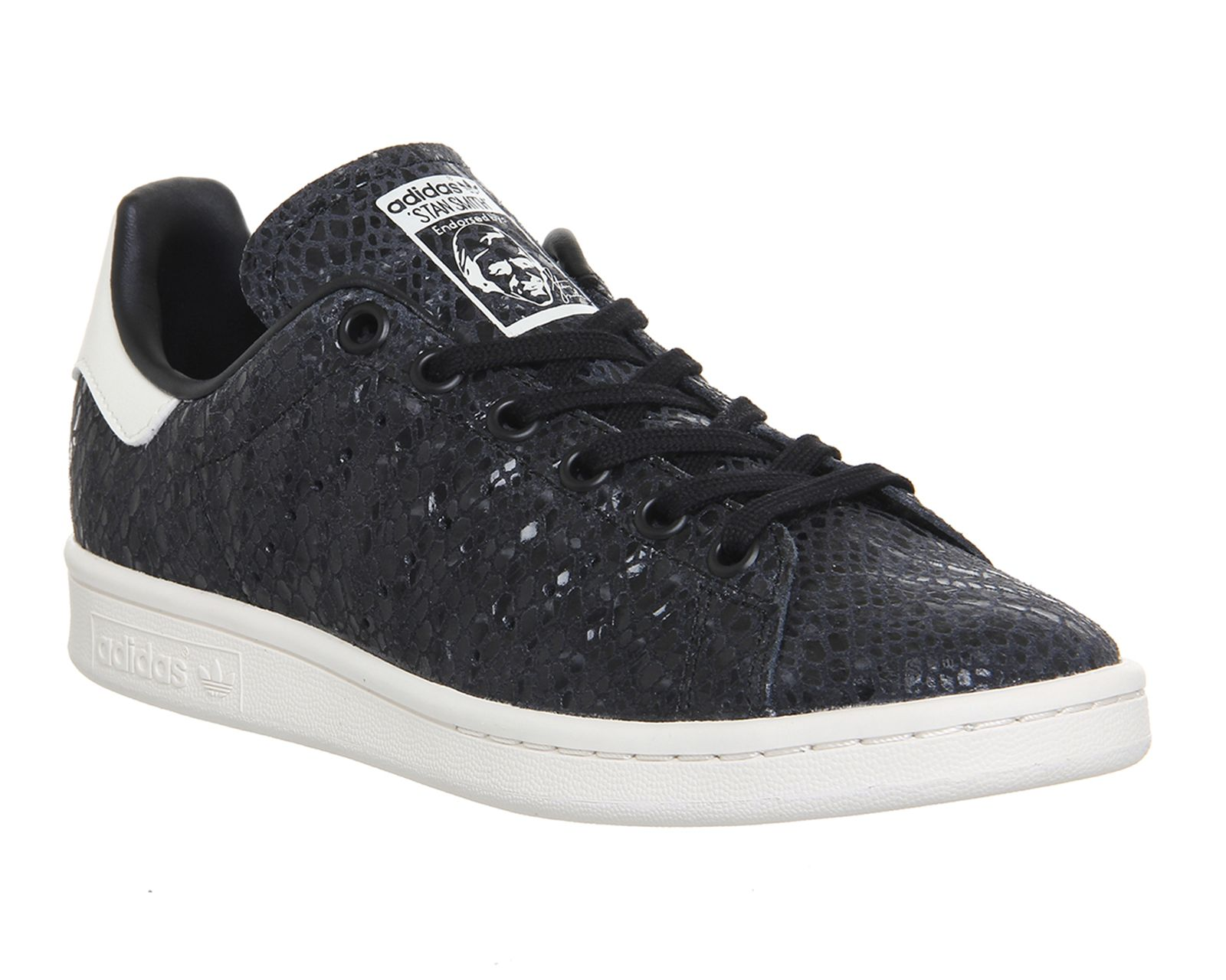 Az once aldim kendime ? Adidas Stan Smith Snake Core Black Chalk White -  Unisex