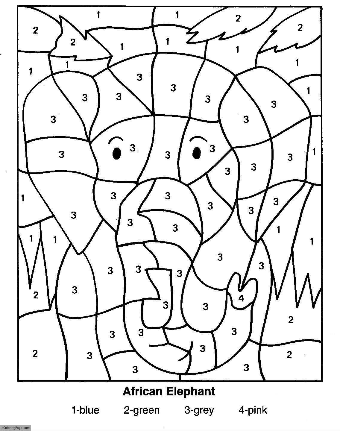 color-by-numbers-elephant-coloring-pages-for-kids-printable ...
