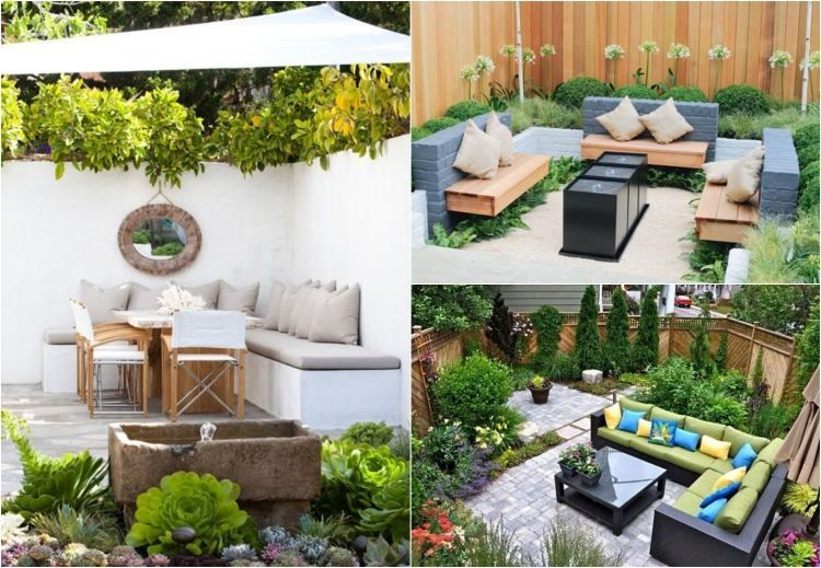 petit jardin id es d 39 am nagement d co et astuces. Black Bedroom Furniture Sets. Home Design Ideas